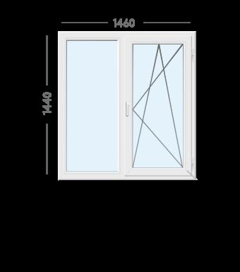 Окно WDS -1460х1440